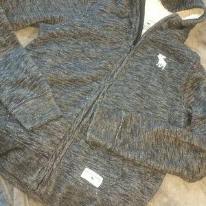 Abercrombie kids hooded zip up sweatshirt